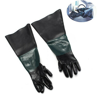 """Pair of 24"""" Heavy Professional Protective Sand Gloves For Industrial Cabinet"""