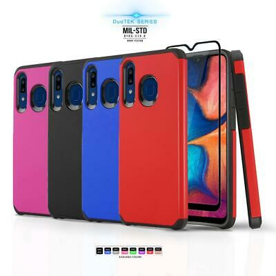 for SAMSUNG GALAXY A20 / A30 / A50, [DuoTEK Series] Phone Case Shockproof Cover