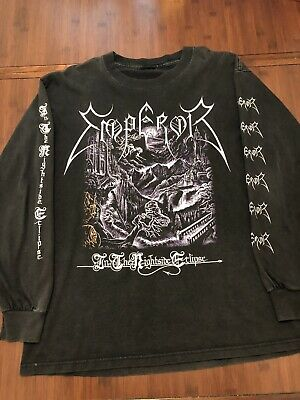 Emperor - In The Nightside Eclipse LS Shirt size Large. (Original, 2nd Addition)
