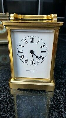 ANTIQUE CARRIAGE CLOCK , EXAM By MAPPIN & WEBB