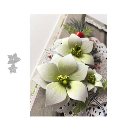 Lovely Flower Cutting Dies Diy Scrapbooking Embossing Paper Cards Craft Stencil