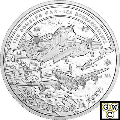 2017 'The Bombing War-Battlefront' Proof $20 Silver Coin 1oz .9999Fine (18220)NT