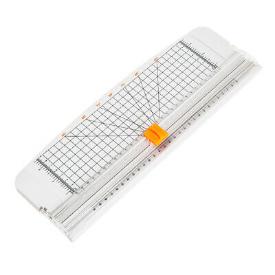 A4 Paper Cutter Trimmer with Auto-safeguard Guillotine Cut for Craft Paper Photo