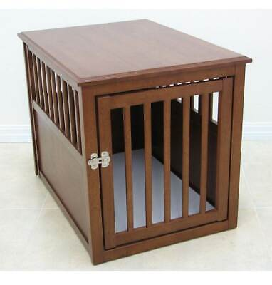Crown Pet Crate Table in Mahogany Finish [ID 3112279]