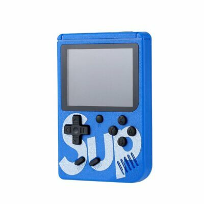 SUP 400 Games Brand Retro Mini Gameboy Game Console Emulator Built-In BATTERY WZ