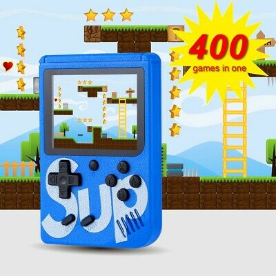 SUP 400 Games Brand Retro Mini Gameboy Game Console Emulator Built-In BATTERY XD