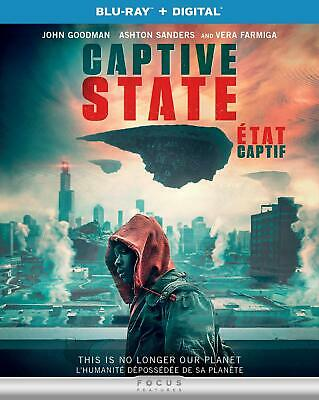 Captive State (Blu-ray, 2019, Canadian)