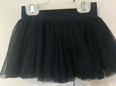 Kids Girls Size 4 Crane Dance Black Tutu Skirt EUC Costume Dress Up Halloween