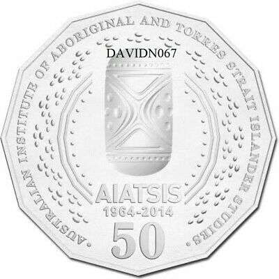 💥 2014 50c AIATSIS Coin 💥dn067 *** ⚡UNC from RAM Roll Low mint. Rare.⭐dn067⚡