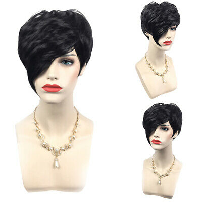 AU_ Popular Ladies Womens Fancy Wig Bob Style Full Short Hair Wig Party Cosplay