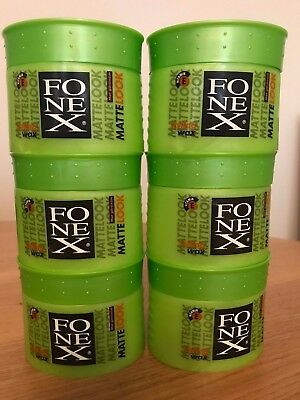 Fonex Matte Look Hair Styling Wax 6 X 100 Ml