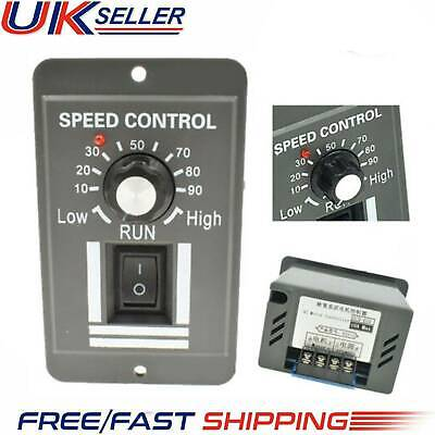 NEW 12V 24V 36V 48V PWM DC Motor Speed Controller Adjustable Switch 6A Regulator