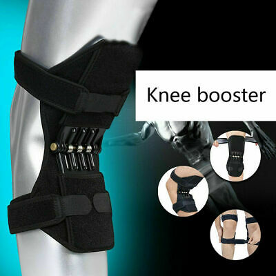 AU 1 Pair Patella Booster Spring Knee Brace Support for Mountaineering Squat