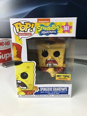 Funko Pop! Animation SpongeBob SquarePants #561 Hot Topic Exclusive