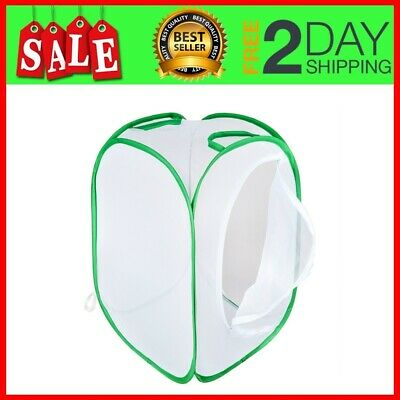 """Collapsible Insect And Butterfly Habitat Net Pop Tall White Kids Butterfly 23.6"""""""