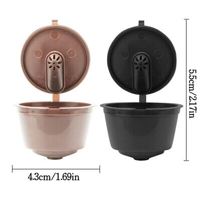 Refillable Coffee Capsule Cup For Dolce Gusto Nescafe Reusable Filter Pod Hot