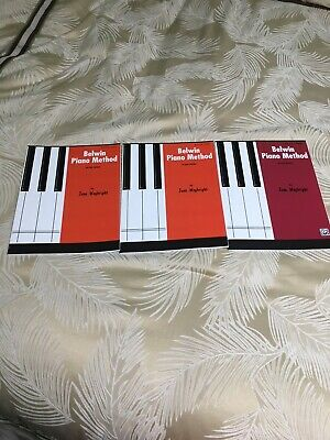 The only piano method books that take students from kindergarten to college.