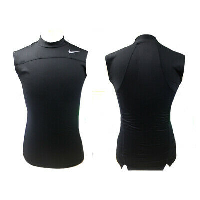 Brand New Nike Adult Pro Compression Sleeveless Shirts 869479-010 Black