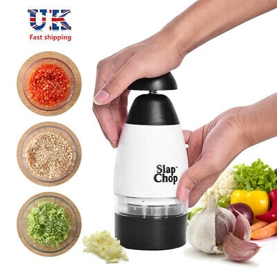 Slap Chop Set Vegetable Garlic Chop Cutter Crush Mash Kitchen Tool Triturator UK