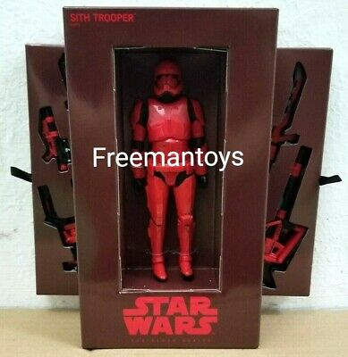 "HASBRO STAR WARS BLACK SERIES 6"" inch SITH TROOPER SDCC 2019 EXCLUSIVE"