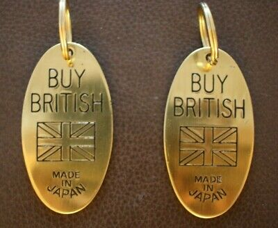 *RARE /& COLLECTABLE* Harrods Directors Toilet Brass Key Rings