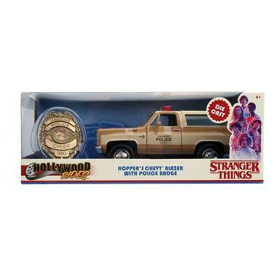 """Hopper's Chevy Blazer with Police Badge """"Stranger Things"""" 1/24 Scale"""