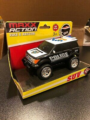 MAXX ACTION LIGHT & Sound Rescue Vehicle Toy Helicopter