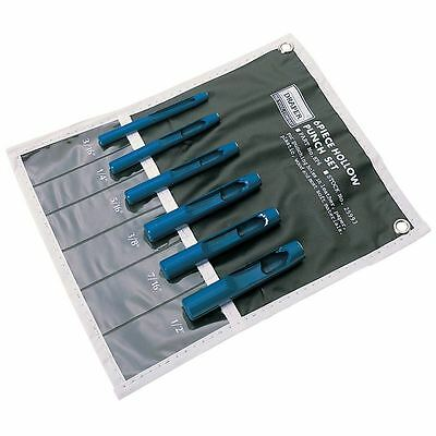 12 Pc Hollow Hole Punch Plastic Leather Washer Gasket Maker Cutter Set HD Tool