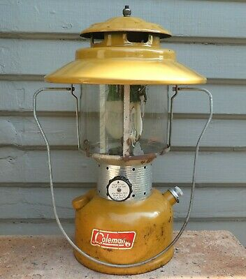 NICE!!! VINTAGE COLEMAN Lantern 228f Two Mantle Dated 6/1968