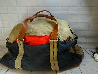 dry goods and Mens furnishings by J.Crew Abington Duffle Bag Travel Airline used