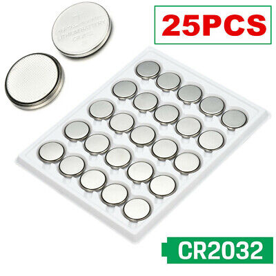 UP TO 25 pcs CR2032 3V Coin CELL Button BATTERY 2032 Batteries Car Key Toy Watch