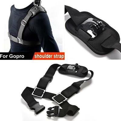 For GoPro Shoulder Chest Straps Mount Harness Belt Hero 3+ 4 Session Accessories