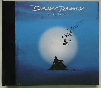DAVID GILMOUR On An Island - 2006 CD in Hardback Book Style Cover - Pink Floyd
