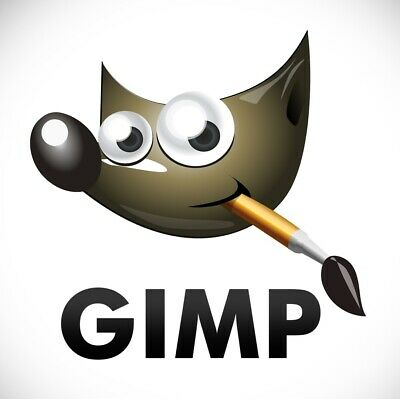 Photo Editing Software GIMP 2.10 Photoshop Compatible Windows on USB Flash Drive