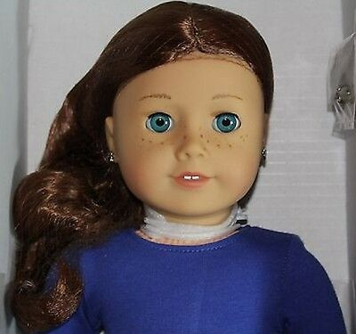 """New American Girl Doll Saige Girl Of Year 2013! Retired 18"""" free shipping"""