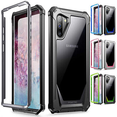 Galaxy Note 10 / 9 / 8 Case Poetic Guardian TPU Bumpers Scratch Resistant Back