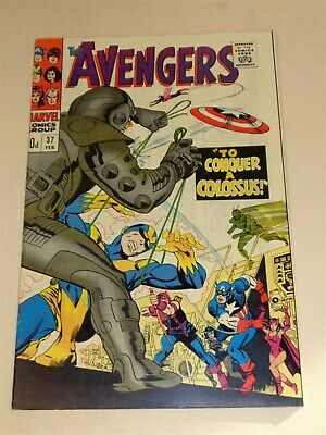 Avengers #37 Fn+ (6.5) Marvel Comics February 1967**