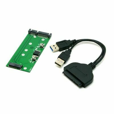 "SATA 2.5"" Hard Disk to USB 3.0 M.2 NGFF B/M-Key SSD for E431 E531 X240"