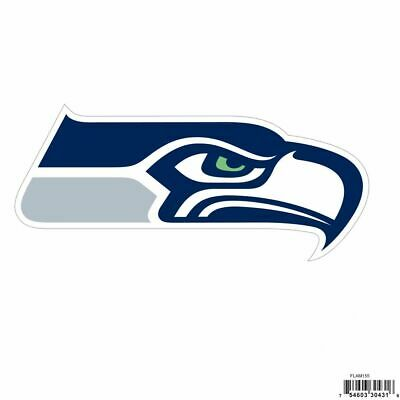 """NFL Seattle Seahawks 8"""" Logo Outdoor Rated Magnet NEW FREE SHIPPING"""