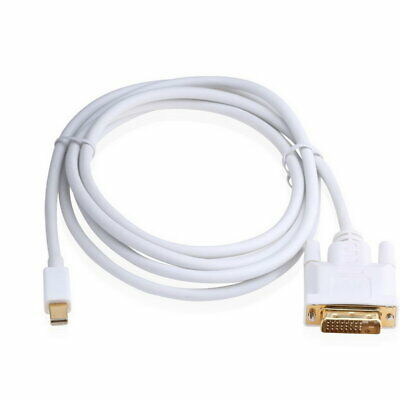 Mini Display Port Displayport Male to DVI Male Adapter Cable Cord 6Ft 1.8M