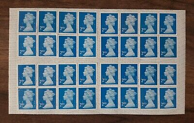 2nd Class Royal Mail Postage Stamps, Unfranked, TOP QUALITY