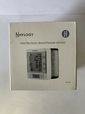 Blood Pressure Monitor HYLOGY Clinically Accurate Automatic Wrist Blood Pressure