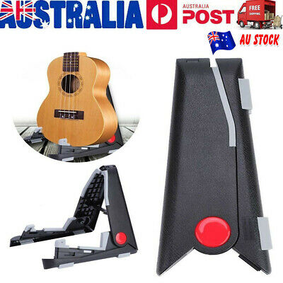 Portable Support Folding Guitar Stand Foldable Music Electric Ukulele Violin AU