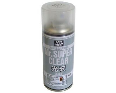 Mr.Hobby B513 Mr.Super Clear Gloss Spray trasparente lucido (170ml) modellismo