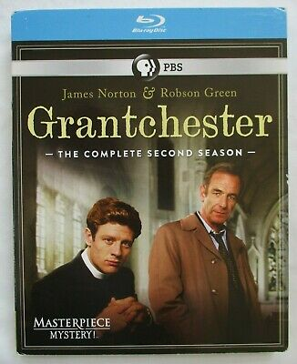 Grantchester Season 2 Pbs Masterpiece Mystery Blu-Ray Disc - New With Sleeve