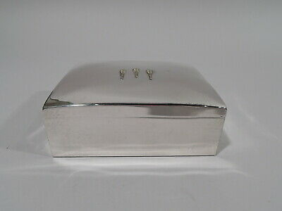 Shreve, Crump & Low Box - Midcentury Modern Torches - American Sterling Silver