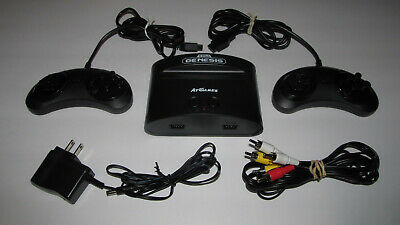 AtGames FB8280C SEGA Genesis Plug & Play Classic Game Console 81 Built-in Games