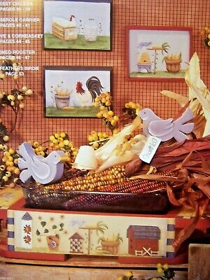 Tailfeathers By Gisele Pope Carla Kern Scheewe 1997 Chickens Tole Painting Book