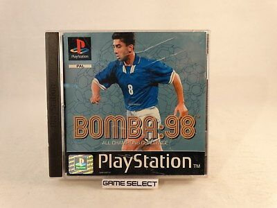 Bomba 98 1998 Sony Playstation 1 2 3 One Ps1 Ps2 Ps3 Psx Pal Italiano Originale