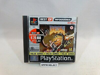 DOOM - JEU Game Sony PlayStation one PS1 PS2 PS3 - Big Box
